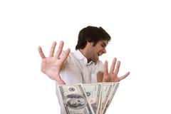 Le paiement illicite Photo stock