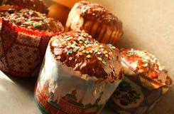 le pain durcit la tradition décorative de Pâques Photos stock