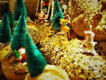 Le pain a fait Noël Decolation dans le restaurant photo libre de droits