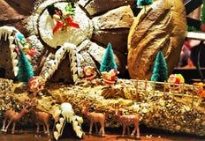 Le pain a fait Noël Decolation dans le restaurant Images stock
