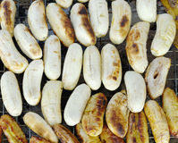Pain grillé de banane Images stock