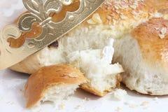 Le pain suisse traditionnel pour le jour d'épiphanie Photos stock