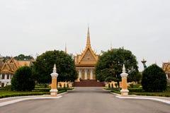 Le palais à Phnom Penh Image stock