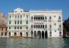 Le palais antique de Venise Images libres de droits