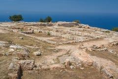 Le palais antique de Vouni Photo libre de droits