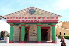 Le Palais Bonbon przy Parkowym Asterix, ile de france, Francja Obrazy Royalty Free