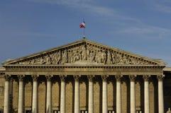 Le Palais Bourbon, the French parliament in Paris Stock Photo