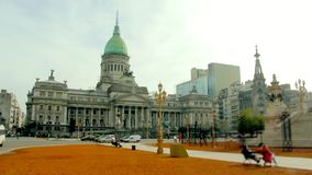 Le palais congressionnel de l'Argentine banque de vidéos