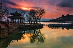 Le palais d'été à Pékin Image libre de droits