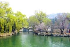 Le palais d'été à Pékin Photographie stock libre de droits