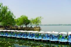 Le palais d'été à Pékin, Chine Photos libres de droits