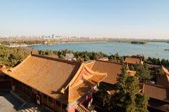 Le palais d'été dans Pékin Photographie stock libre de droits