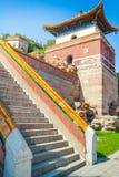 Le palais d'été impérial dans Pékin, Chine Architecture de chinois traditionnel image libre de droits