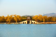Le palais d'été, Pékin, Chine photo stock