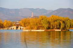 Le palais d'été, Pékin, Chine photographie stock libre de droits