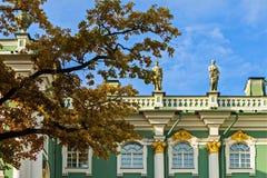 Le palais d'hiver est le palais impérial principal de la Russie photographie stock