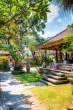 Le palais d'Ubud, Bali photo libre de droits