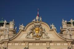Le palais de belvédère Image libre de droits
