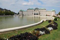 Le palais de belvédère de Vienne photographie stock