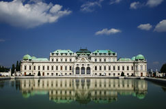 Le palais de belvédère wien dedans Photographie stock libre de droits