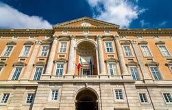 Le palais de Caserte, une ancienne résidence royale images libres de droits