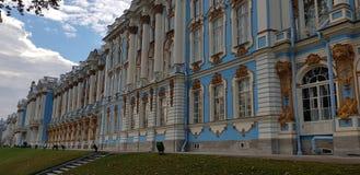 Le palais de Catherine - la résidence d'été des tsars russes photo stock