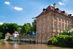 Le palais de Concordia, Bamberg Photographie stock