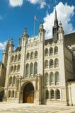 Le palais de corporations, Londres Images libres de droits