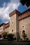 Le palais de Cybo Malaspina à Carrare Image stock