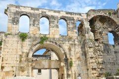 Le palais de Diocletian Photographie stock