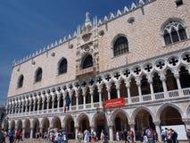 Le palais de Dode, Venise, Italie Photo libre de droits