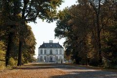 Le palais de Falkenlust les palais de Falkenlust est un complexe de bâtiment historique en hl de ¼ de BrÃ, Rhénanie-du-Nord-Westp image libre de droits