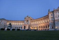Le palais de Hofburg à Vienne Image libre de droits