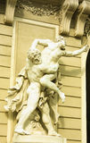 Le palais de Hofburg est l'ancien palais impérial au centre de Vi images stock
