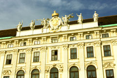 Le palais de Hofburg est l'ancien palais impérial au centre de Vi photos stock