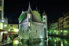 Le Palais de I'lle,阿讷西,法国 库存照片