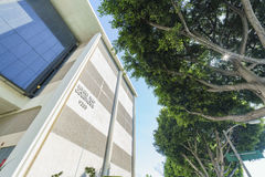 Le palais de justice célèbre de Beverly Hills photographie stock