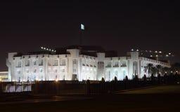 Le palais de l'émir dans Doha, Qatar Image stock