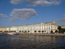 Le palais de l'hiver (ermitage) Images libres de droits
