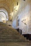 Le palais de maître grand de Rhodos images libres de droits