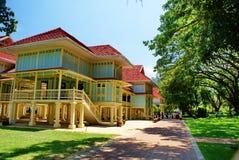 Le palais de Mrigadayavan, Cha-suis, la Thaïlande image libre de droits