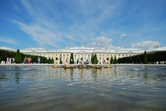 Le palais de Petergof Photos libres de droits