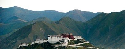 Le palais de Potala Photos libres de droits