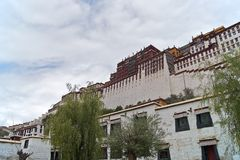 Le palais de Potala Photo stock