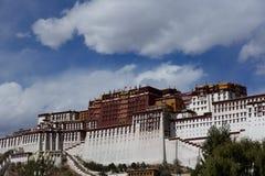 Le palais de Potala Image libre de droits