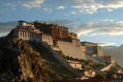 Le palais de Potala Images libres de droits