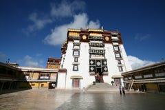 Le palais de potala, Lhasa au Thibet Image stock