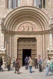 Le palais de Priors, Pérouse Photo libre de droits