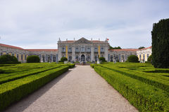 Le palais de Queluz est un palais du 18ème siècle portugais localisé Photos libres de droits