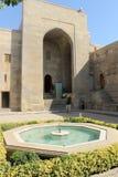 Le palais de Shirvanshah, Bakou Image libre de droits